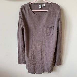 Anthropologie linen blend tunic #939